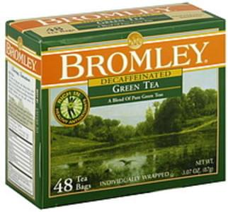 Bromley Tea Bags Naturally Decaffeinated Green