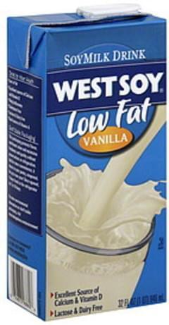 West Soy Soymilk Drink Vanilla 32 Oz