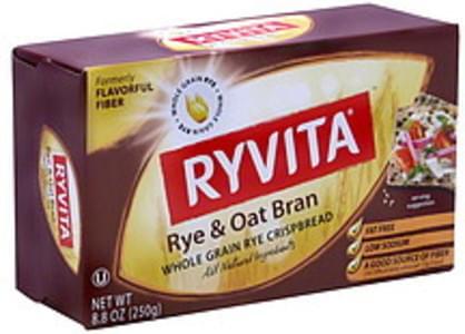 Ryvita Crispbread Rye & Oat Bran 8.8 Oz
