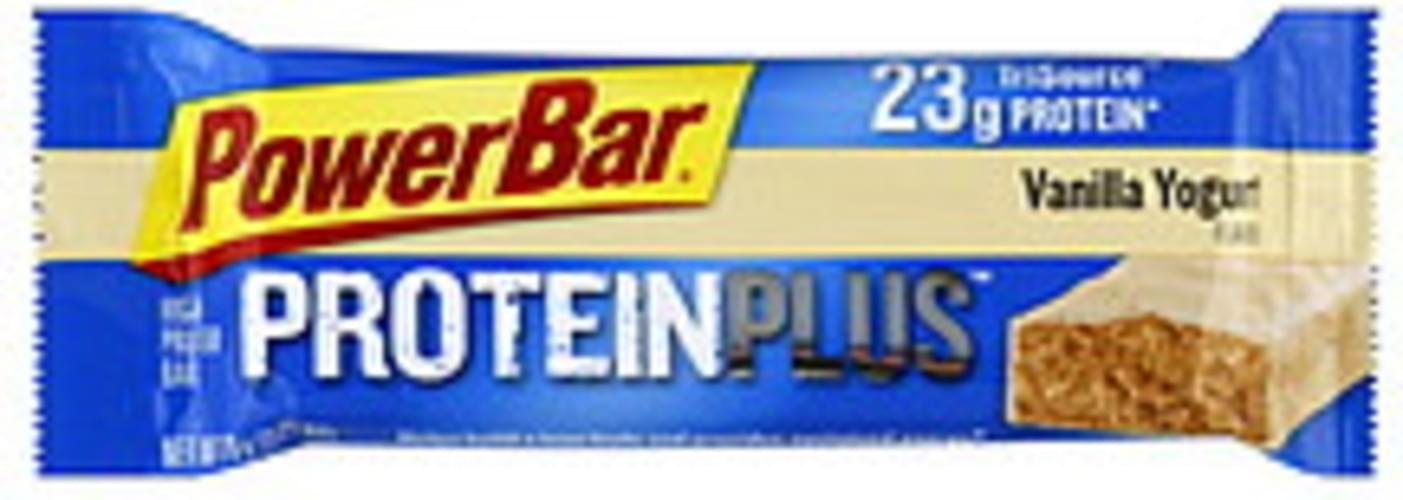 Powerbar Proteinplus Vanilla Yogurt 12 Ct High Protein Bar - 12 pkg