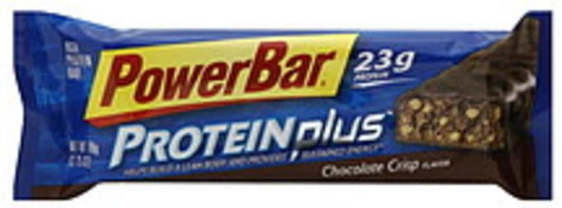 Powerbar Protein Plus Protein Bar Chocolate Crisp 12 Ct
