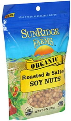 Sunridge Farms Organic Soy Nuts - 6 oz