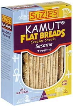 Suzie's Flatbread Kamut Sesame 4.5 Oz
