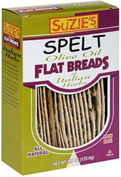 Suzie's Flatbread Italian Herbs Spelt 45 Oz