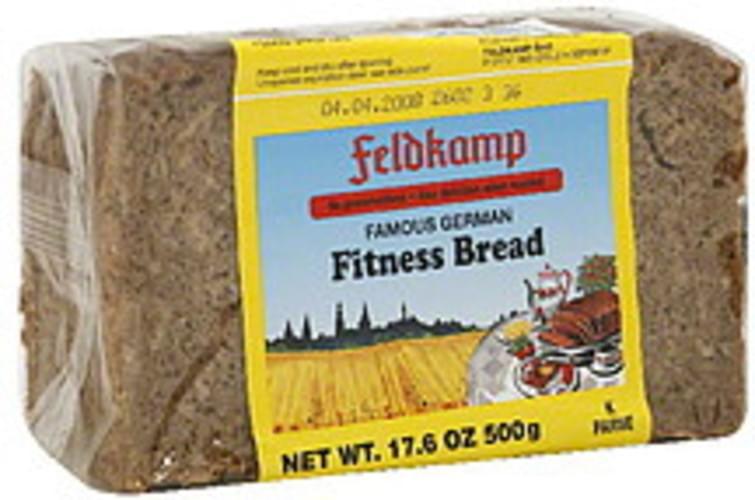 Feldkamp Famous German Fitness 16.75 Oz Bread - 12 pkg