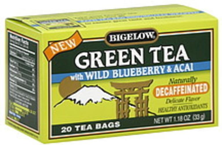 Wild Blueberry & Acal Tea Bags