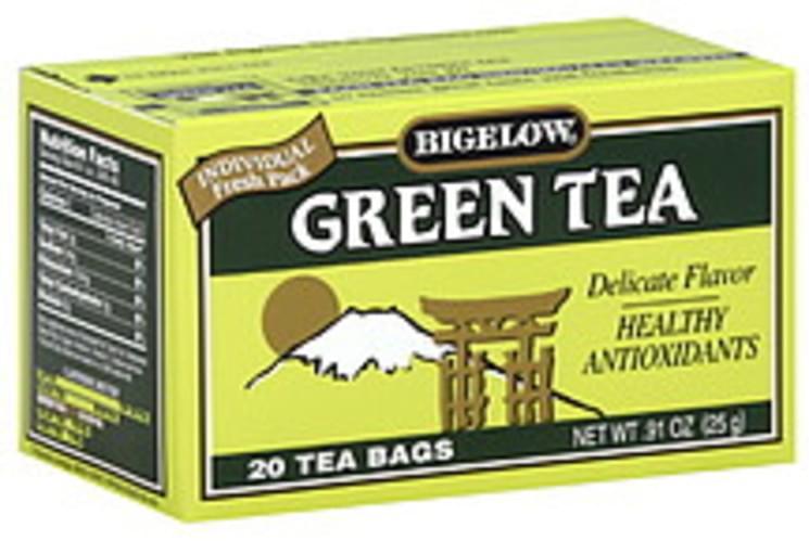 Bigelow Green Tea Tea Bags - 20