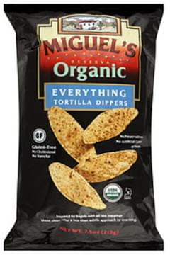 Miguel's Tortilla Dippers Reserva Organic Everything 7.5 Oz