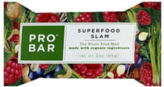 ProBar Meal Bar Superfood Slam 12 Bars