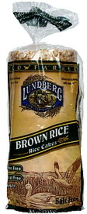 Lundberg Family Farms Eco Farmed Brown 13 Ct Rice Cakes - 12 pkg