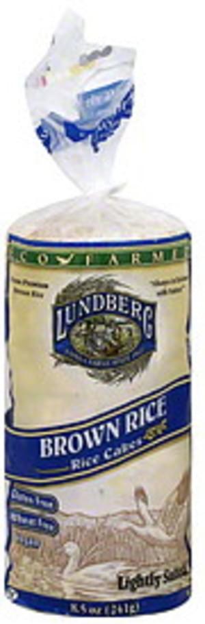 Lundberg Family Farms Eco Farmed Brown 13 Ct Rice Cakes - 12 pkg