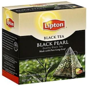 Lipton Tea Bags Black Pearl 20 Ct