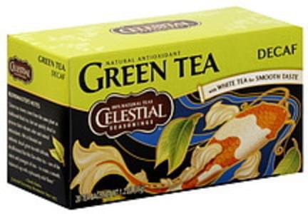 Celestial Seasonings Green Tea Decaf 20 Ct 1.2 Oz