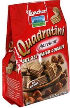 Loacker Wafer Cookies Quadratini Hazelnut 8.82 Oz.