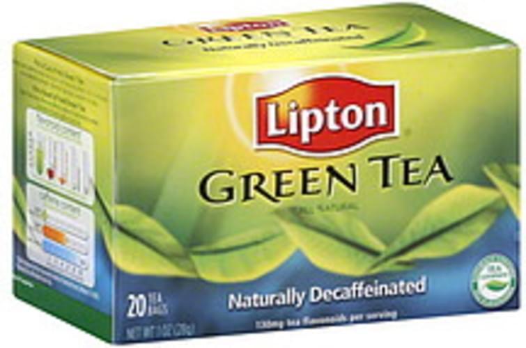 Lipton Green 20 Ct Tea - 6 pkg