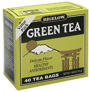 Bigelow Tea Bags Green