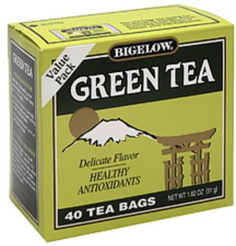 Bigelow Green Tea Bags - 40