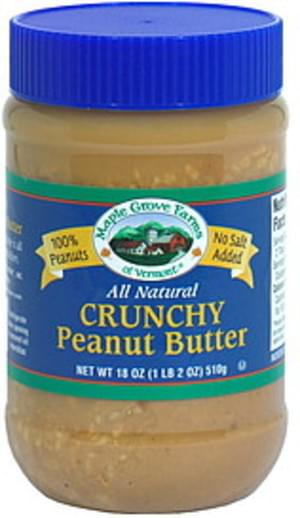 Maple Grove Farms All Natural Crunchy Peanut Butter - 18 oz