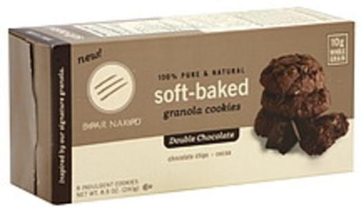 Bear Naked Soft Baked Double Chocolate 8.5 Oz Granola Cookies