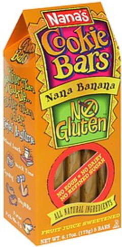 Nana's Cookie Bars Banana 6.17 Oz