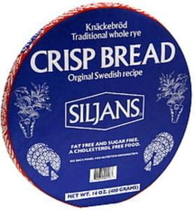 Finn Crisp Crispbread Siljans Orginal Recipe 14 Oz