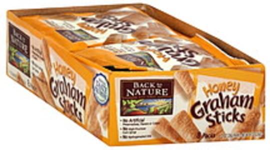 Back to Nature Honey Graham 8 Ct Sticks