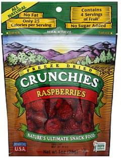 Crunchies Raspberries Freeze Dried