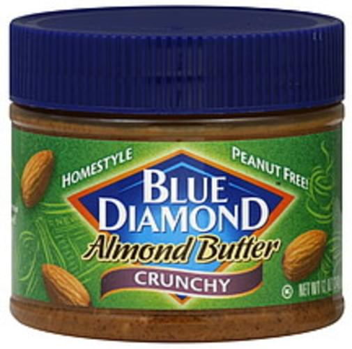 Blue Diamond Homestyle Crunchy 12 Oz Almond Butter - 6 pkg