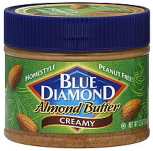 Blue Diamond Homestyle Creamy 12 Oz Almond Butter - 6 pkg
