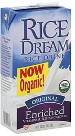 Rice Dream Rice Drink Organic Original Enriched 64 Oz