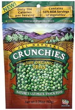 Crunchies Peas 100% Organic