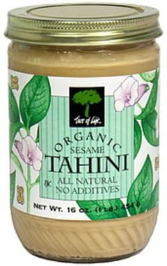 Tree of Life Tahini Organic Sesame 16 Oz
