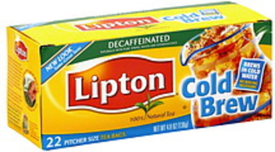 Lipton Tea Decaffeinated Cold Brew 4.8