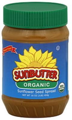 Sunbutter Spread Organic 16 Oz