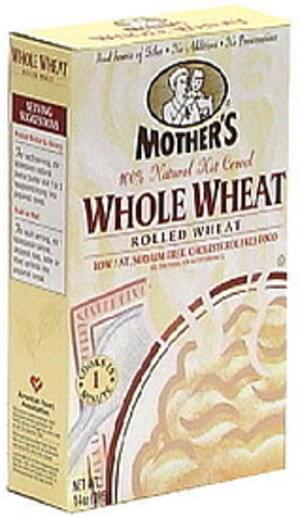 Mother's Whole Wheat All Natural Hot Cereal - 14 oz