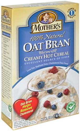 Mother's Oat Bran All Natural Hot Cereal - 16 oz