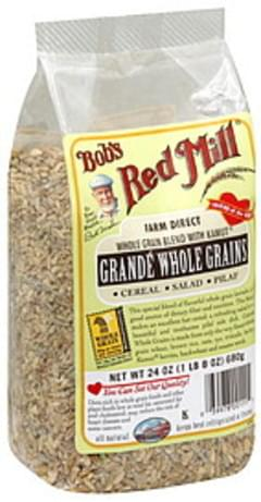 Bob's Red Mill Whole Grain Kernels Grande Whole Grain Blend W/Kamut Khorasan Wheat