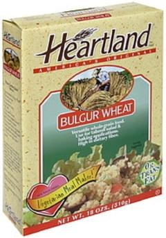 Heartland Hot Cereal Bulgar Wheat All Natural 18 Oz