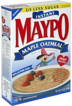 Maypo Oatmeal Maple Instant