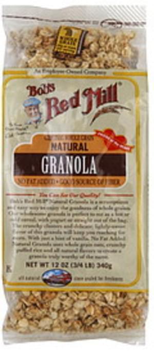 Bob's Red Mill All Natural Whole Grain Granola - 12 oz