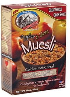 Hodgson Mill Muesli Apples & More 16 Oz