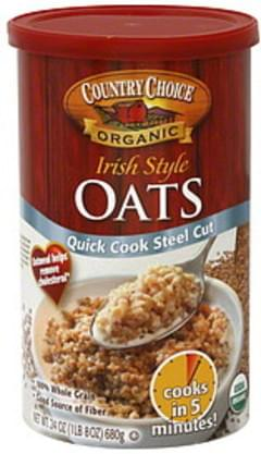 Country Choice Organic Irish Style Oats Organic 24 Oz