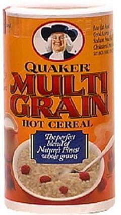 Quaker Hot Cereal Multi Grain 18 Oz