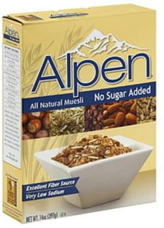 Alpen Muesli All Natural No Sugar Added