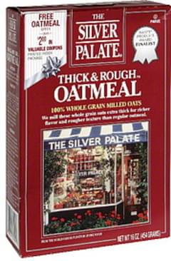 The Silver Palate Oatmeal Thick & Rough 100% Whole Grain