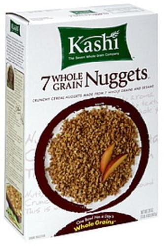 Kashi Cereal Nuggets 7 Whole Grain 20 Oz - 12 pkg