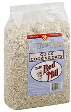 Bob's Red Mill Oats Quick Cooking 32 Oz