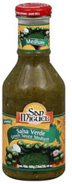San Miguel Salsa Green Sauce Medium
