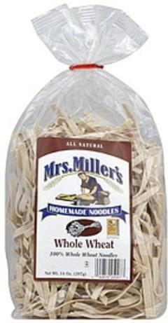 Mrs. Miller's Noodles Whole Wheat 14 Oz