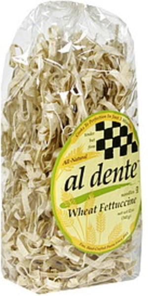 Al Dente Whole Wheat Fettuccine 12 Oz Noodles - 6 pkg